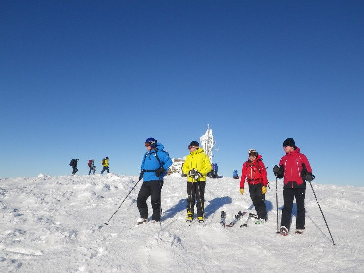 A multitude of colour on the summit of Cairngorm