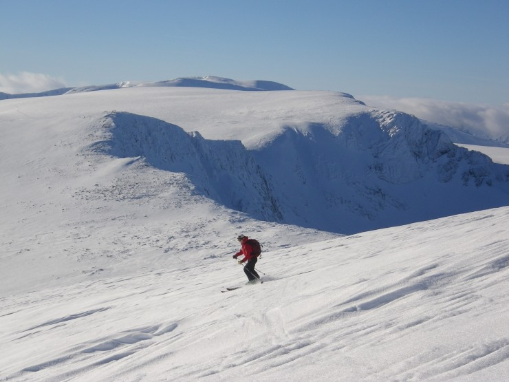 Good cover with varied off piste ski conditions