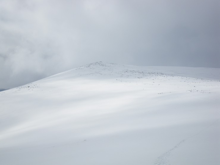 Today taken between snow showers the South-East side of Cairngorm