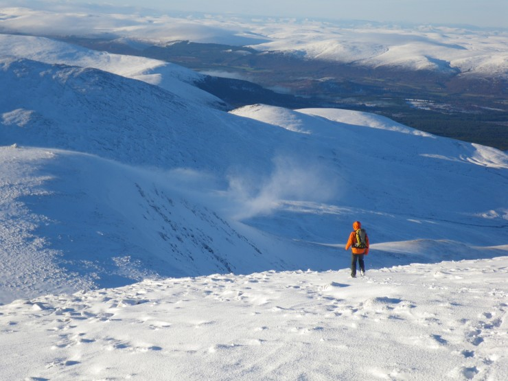 Deep drifts on some Westerly aspects
