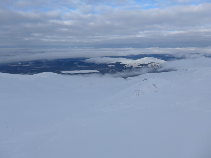 Loch Morlich and Meall a Buachaile from Coire an Lochain