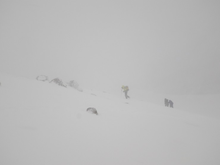 Poor visibility at times this was at 850m