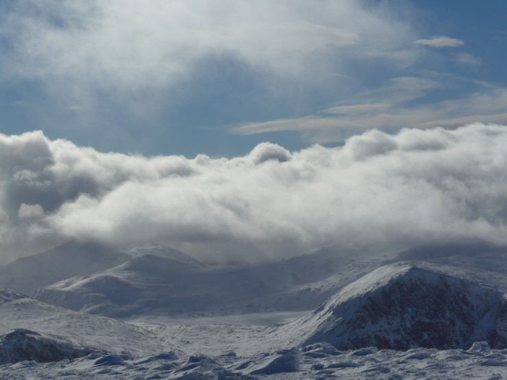 Looking South from Cairngorm
