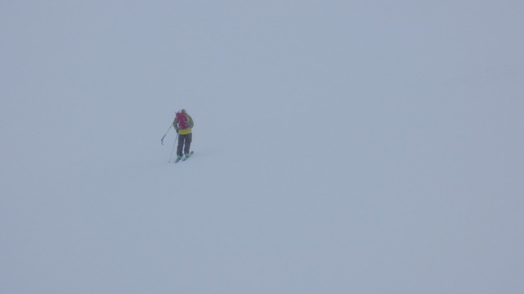 Navigating in a whiteout on the Cairgorm Plateau