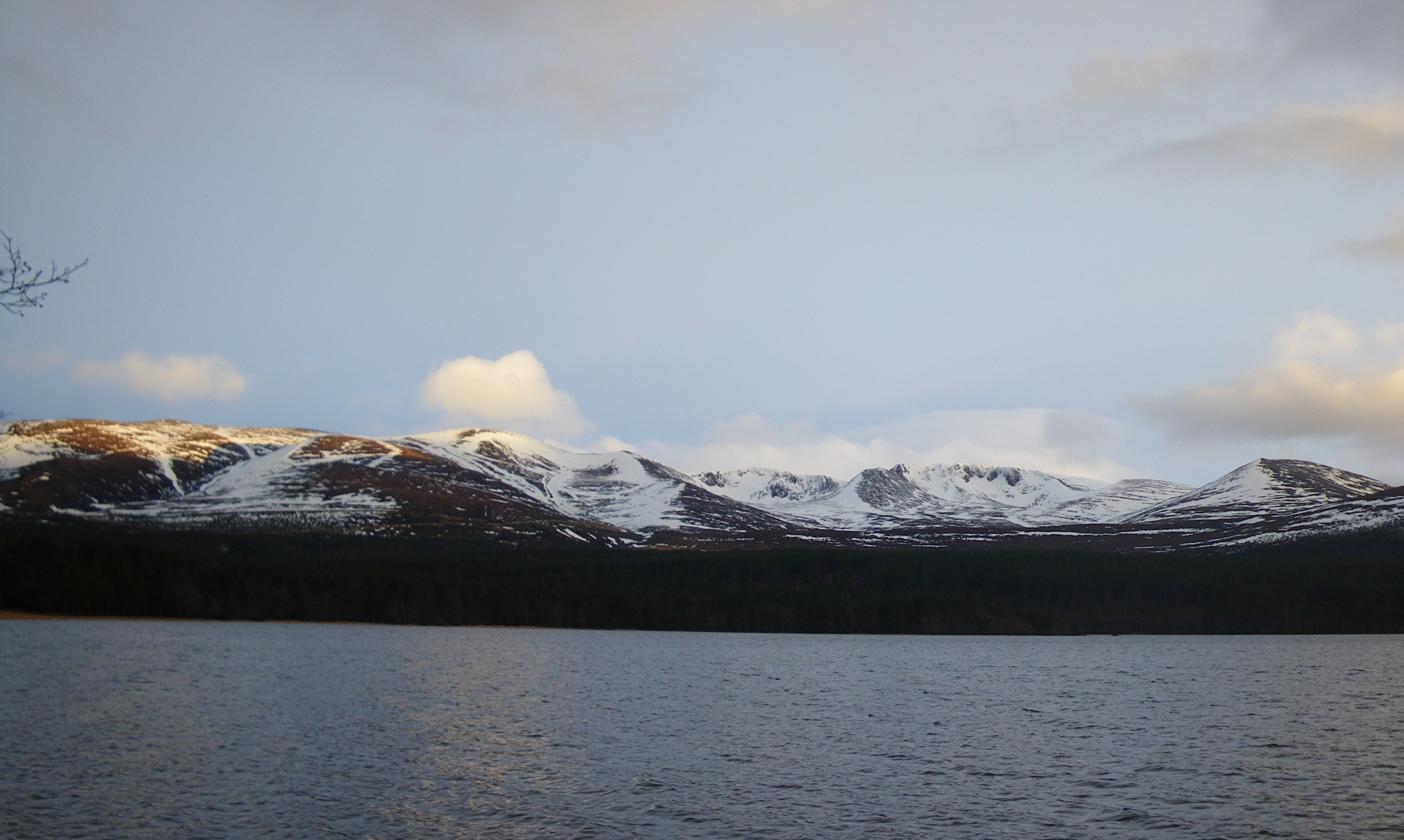 Evening light on the Northern Corries