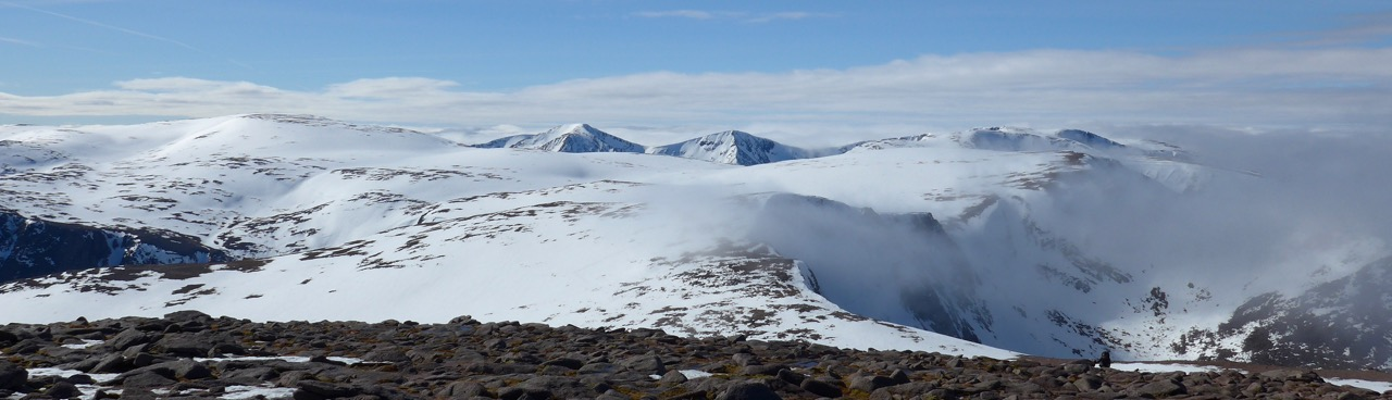 Cairngorm Plateau from Cairngorm summit