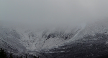 Blizzard conditions on the Tops
