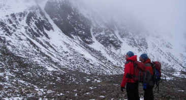 Wet to Summits then Colder