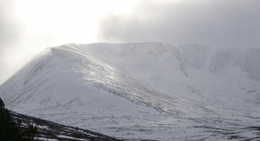 Blustery snow showers