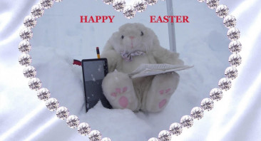 Happy Easter from North Cairngorm