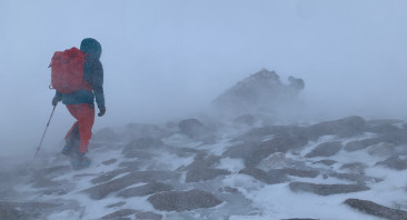 Windy on the tops with Blizzards