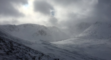 Squally snow showers