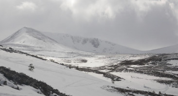 Snow showers and sunny spells