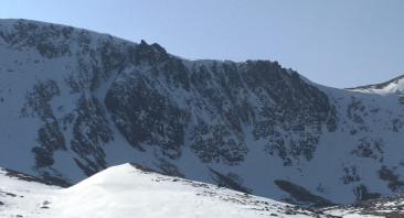 A firm snowpack