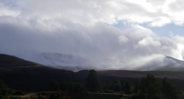 Heavy snow showers